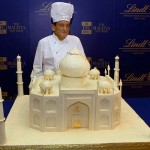 Swiss Chocolatier Builds Taj Mahal From White Chocolate